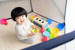 Toddler Playing