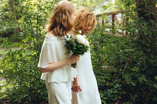 Two Brides Eco Wedding in London