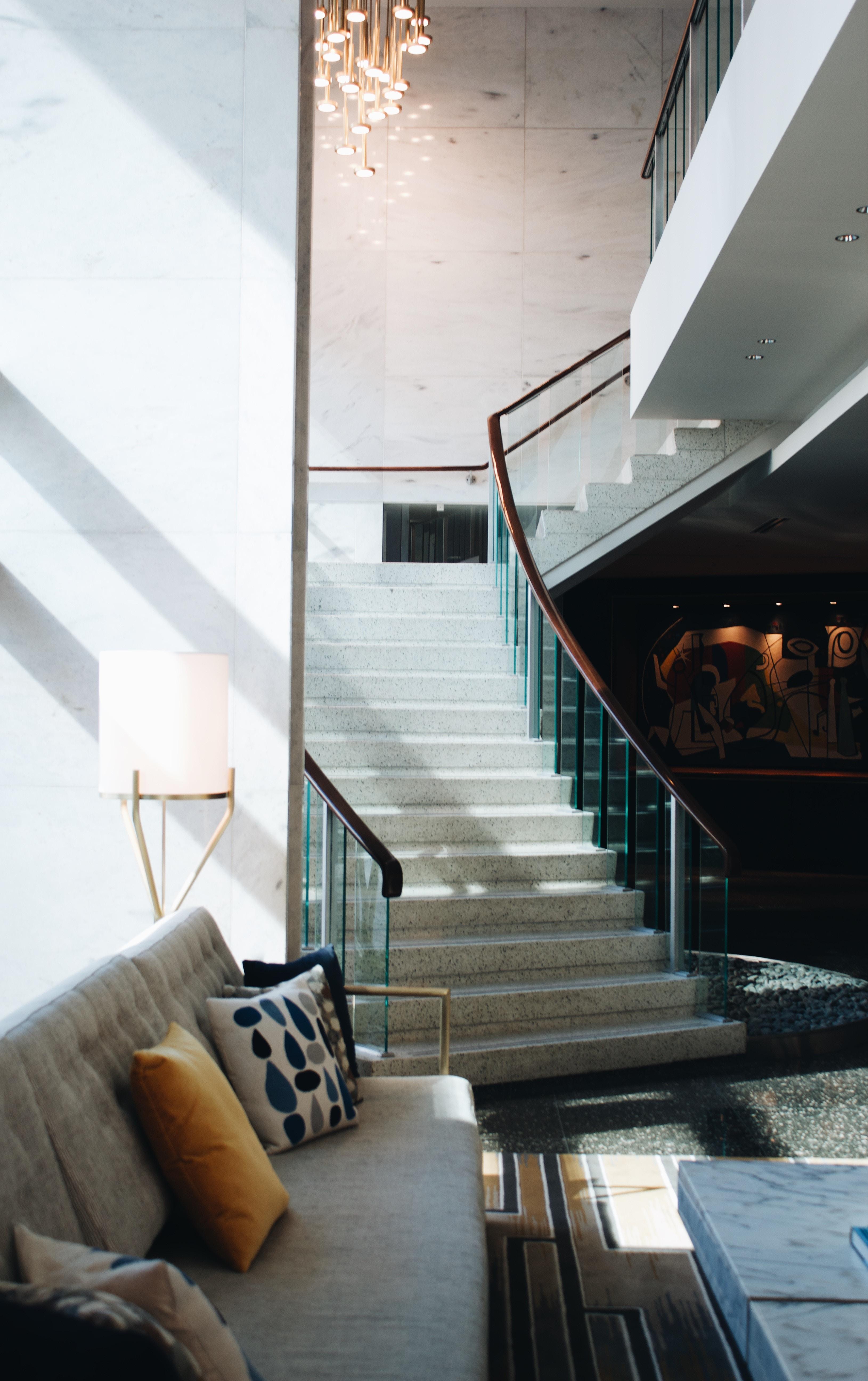 Treppe Marmor im Haus