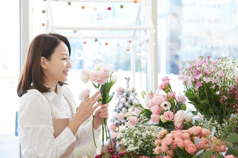 花 花屋 店の写真