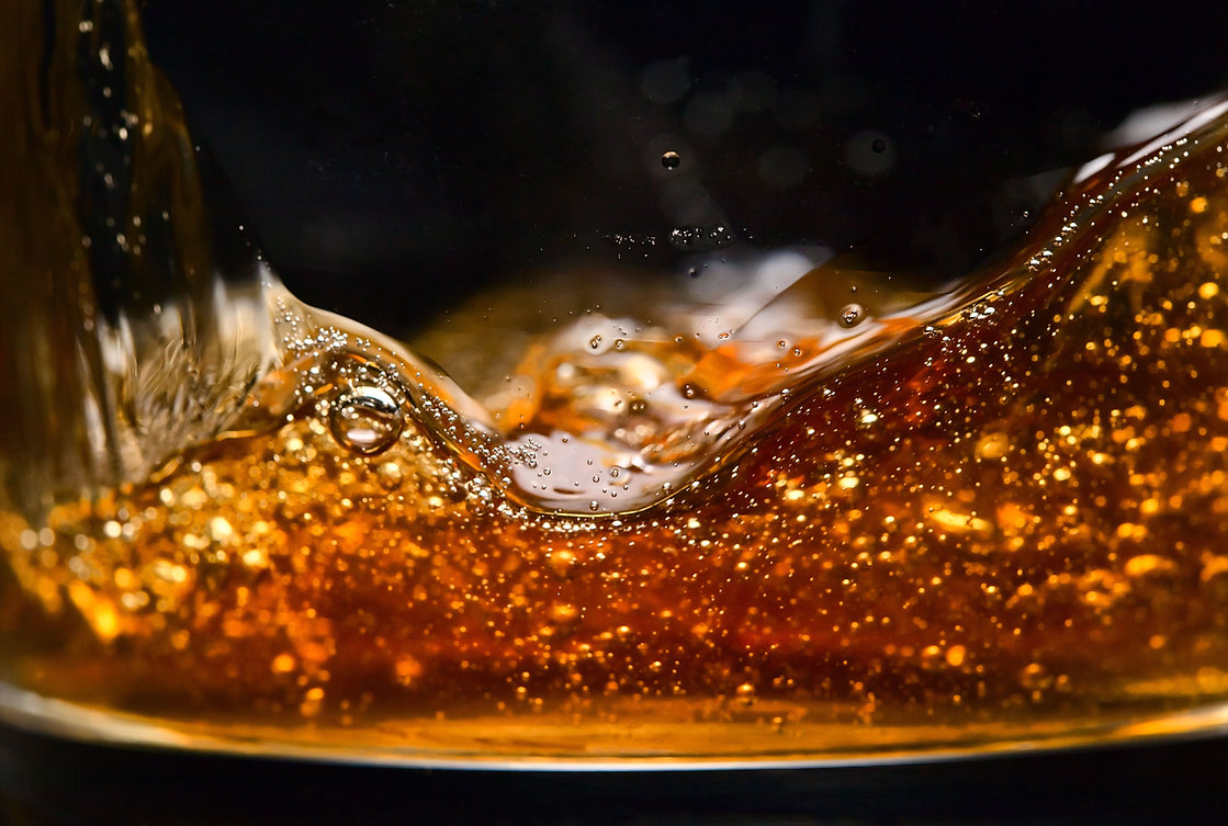 Whiskey Glass Up Close