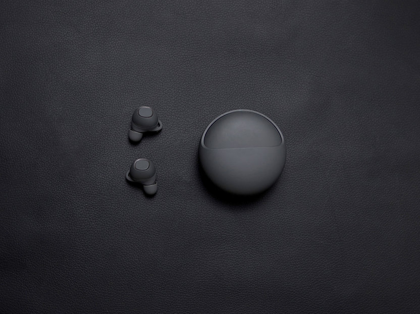 Black Wireless Earbuds