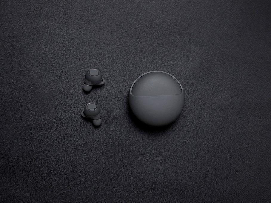 Siyah Kablosuz Kulaklıklar