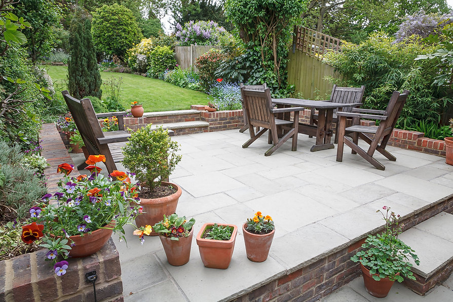 Leander patio and landscaping