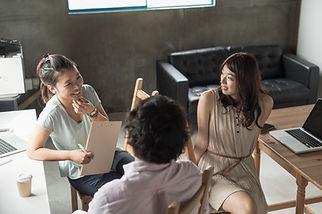 Discussão em grupo do Office