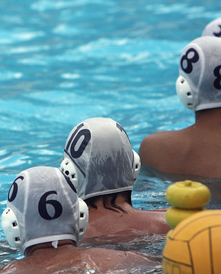 Jogadores de pólo aquático