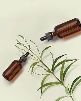 Glasflaschen mit Tropfaufsatz wie bei Heidak Spagyrik Mischungen der Drogerie im Schwamedingerhuus Zürich
