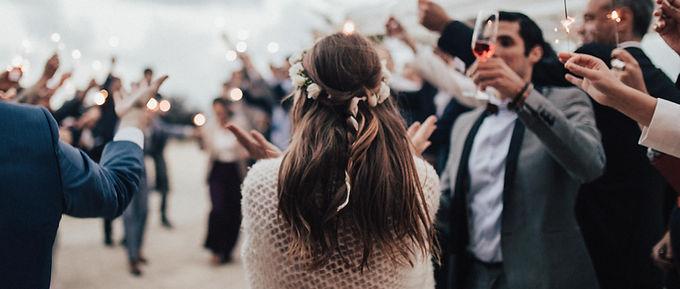 結婚式のお祝い