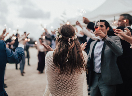 3 ways to spark up your wedding exit & where to buy them