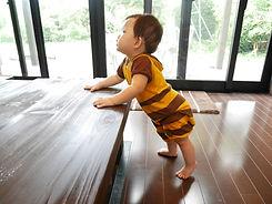 Standing Toddler