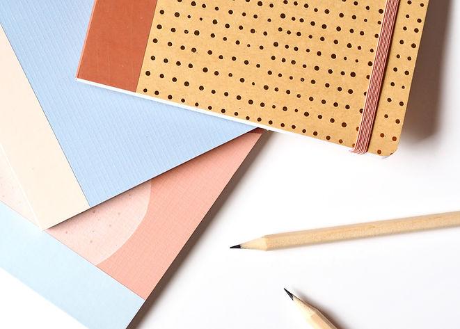 Taccuini e matite