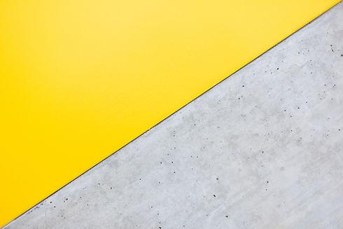 Yellow and Grey Wall