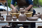 Pottery in the Making