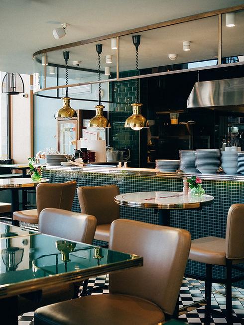 Interior of Restaurant after Sanitation