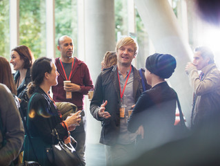 Attending Network Events Can Be Productive