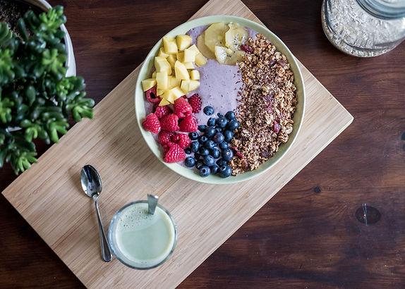 Tigela de Açaí com frutas