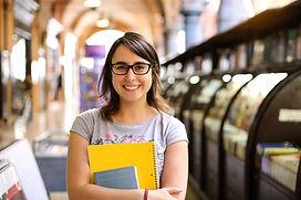Portrait d'étudiante