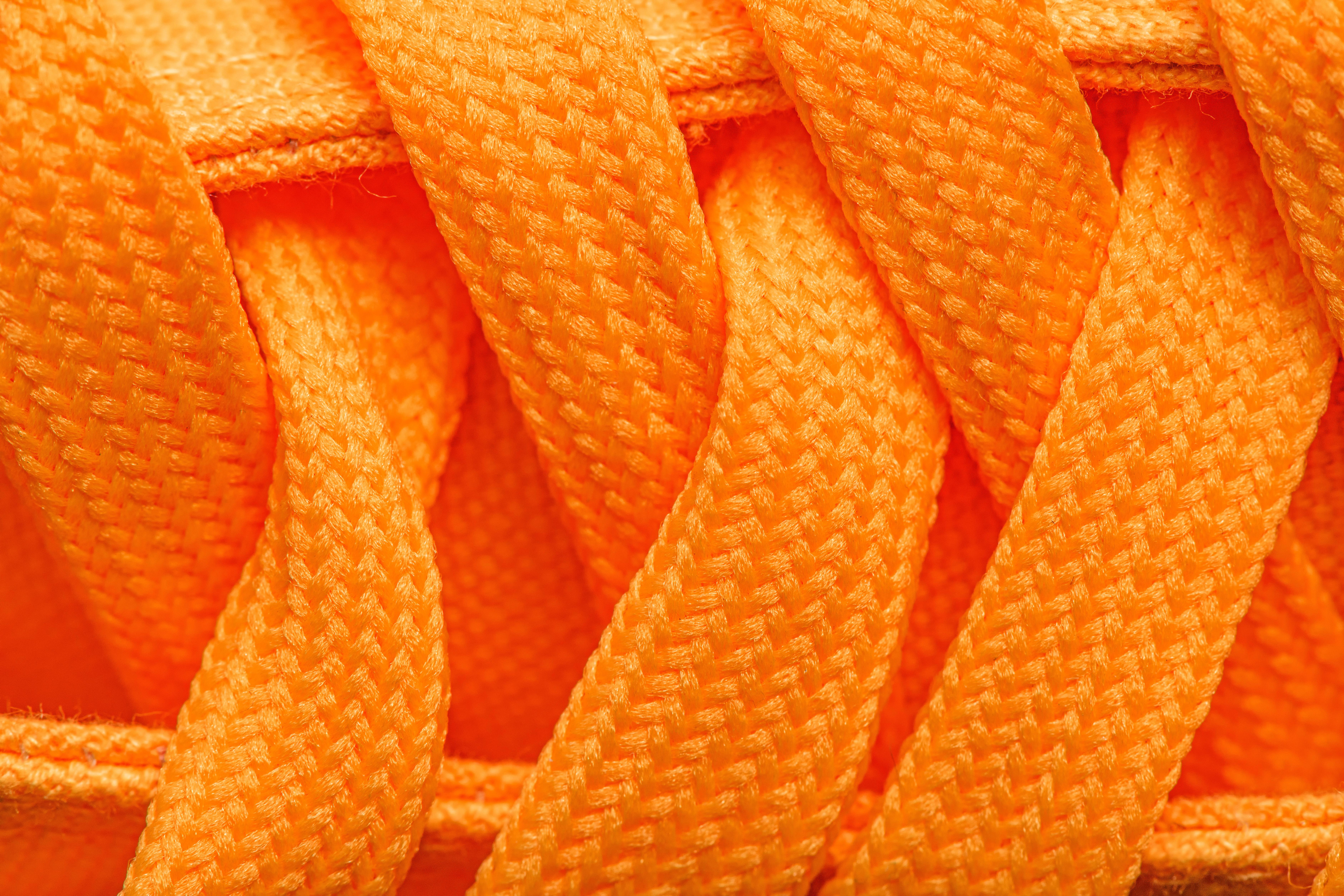 Orange Schnürsenkel