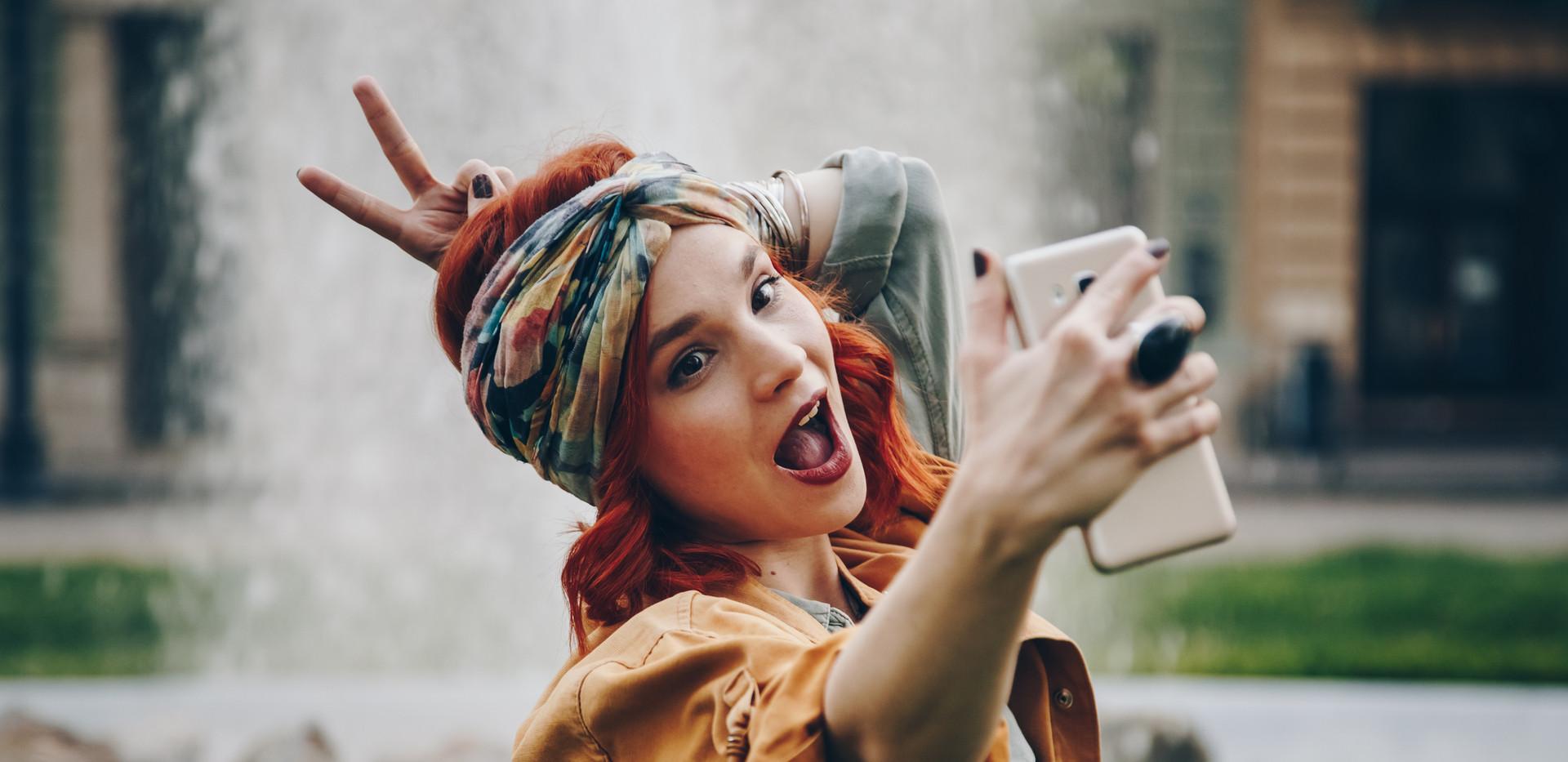 Silly Selfie