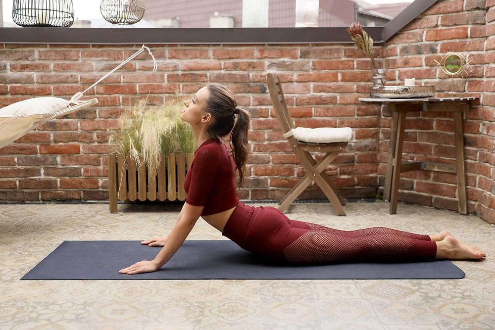 Pose du cobra Yoga