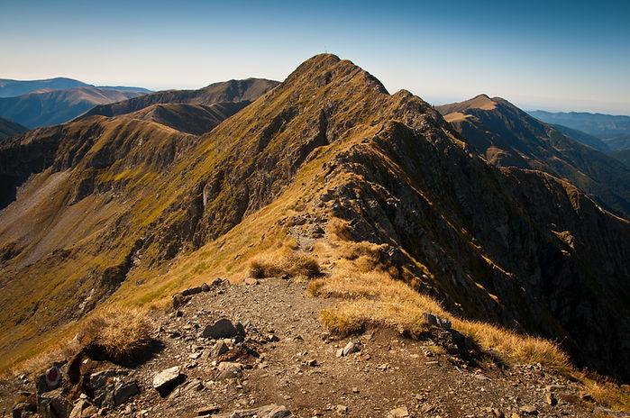 Cresta de la montaña