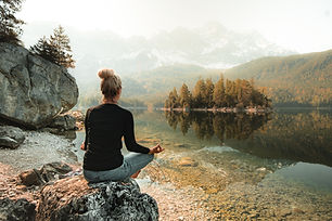 Meditating in Nature