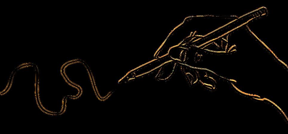 Desenho à mão