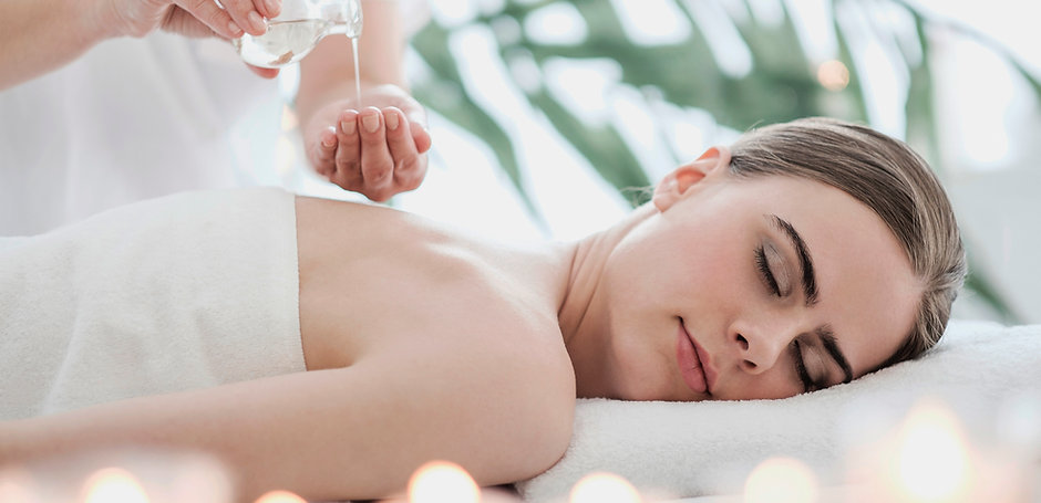 Massage à l'huile