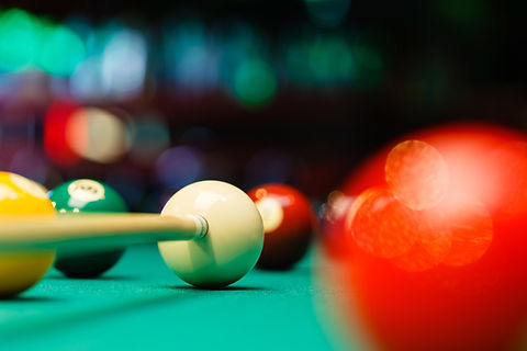 Pool Ball Hit