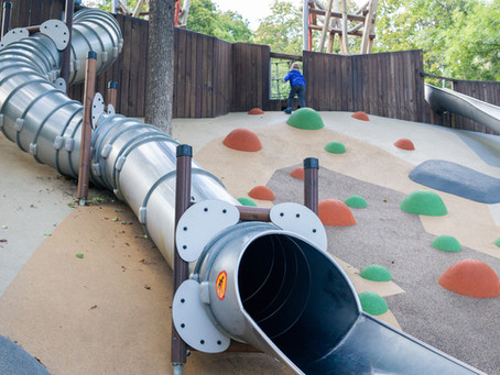 Use a trip to the playground to strengthen your child's memory