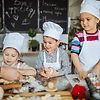 Clase de cocina para niños