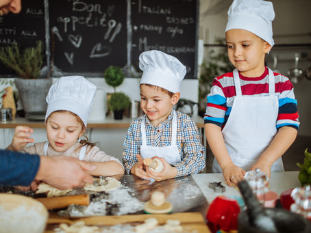 Ten Recipes for a Christmas Bake Off — the benefits of cooking with pre-schoolers