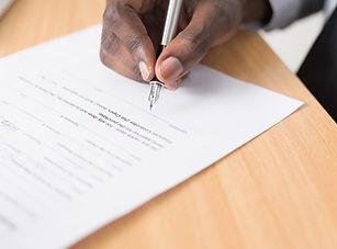 Contract Signature
