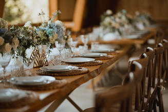 Decorated Dinning Table