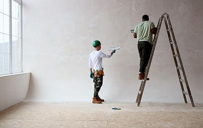 Plastering Wall
