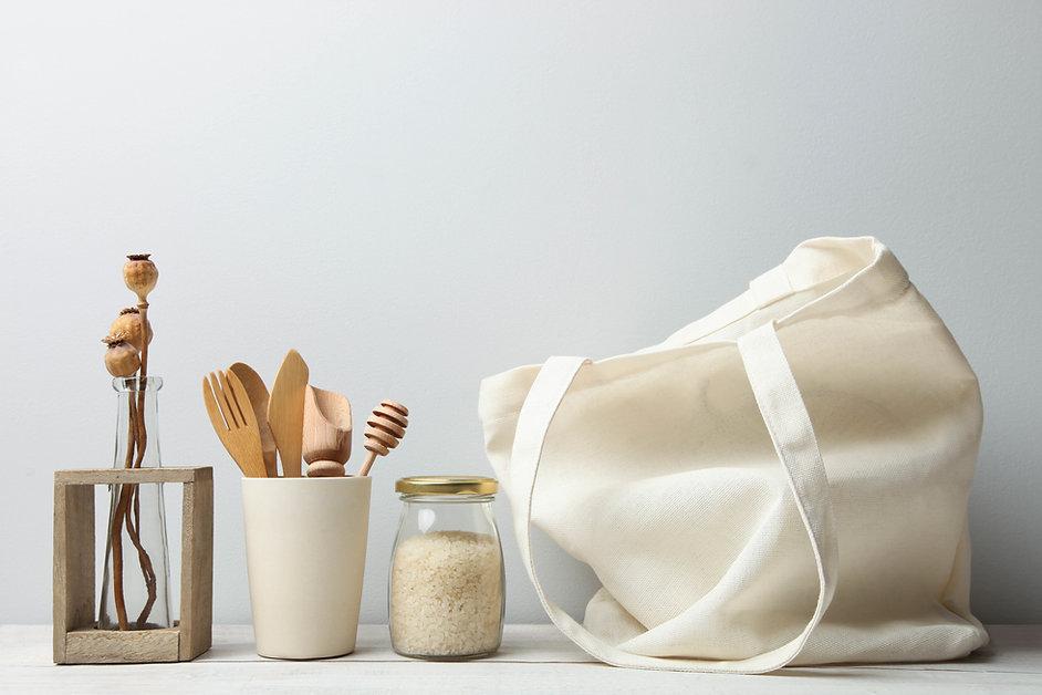 Accessoires pour la Maison en tissus écologiques par Inspir'haies