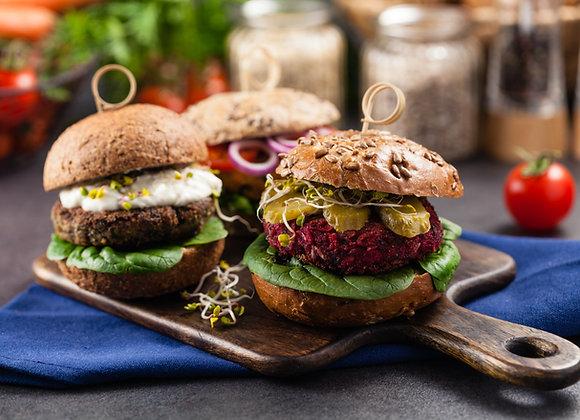 Paramount Vegetable Burger Patty FROZEN