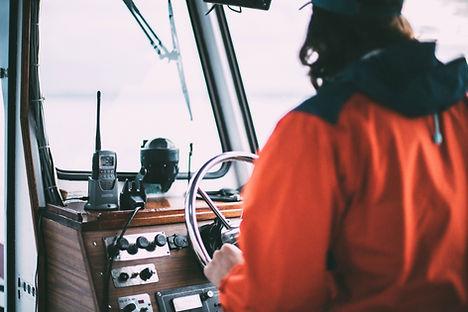 Leme de barco