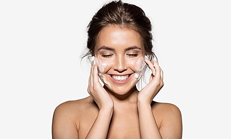 Happy Beauty Model
