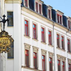 Denkmalgeschütztes Hotel