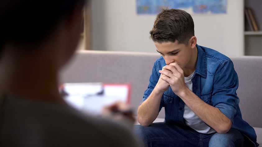 Young Man in Therapy