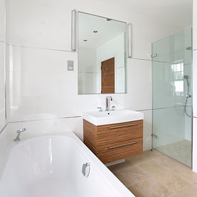 Modern Bathroom shower sink bath mirror wet room