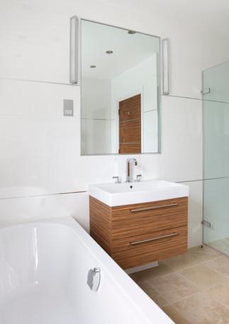Cuarto de baño moderno