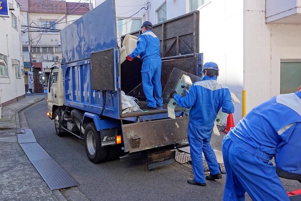 一般ゴミの定期回収
