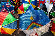 Decorated Umbrellas