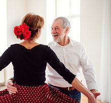 Ballroom Dancing Couple