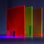 Colorful Transparent Glass
