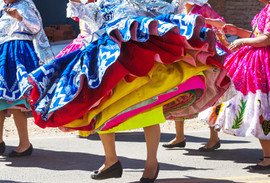 Peruvian Dancing Skirts