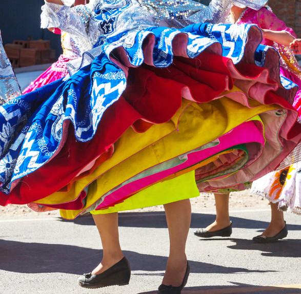 Peruvian Dancing Skirts