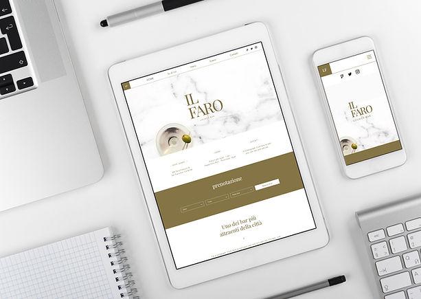 Responsive website design for desktop, mobile and ipads